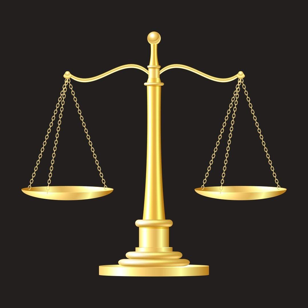 gold scales on black background. vector illustration